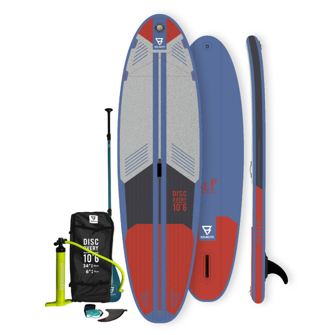 Brunotti Discovery 10'6'' iSUP Package - Blue - Allround Advanced