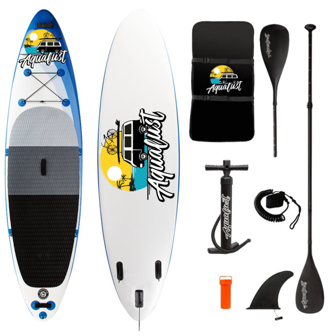 Aqualust 10'6'' iSUP Package - Blue - Allround