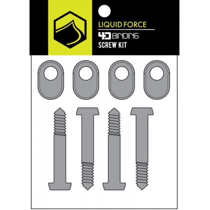 Liquid Force 4D Screw Angle Lock - Set of 4