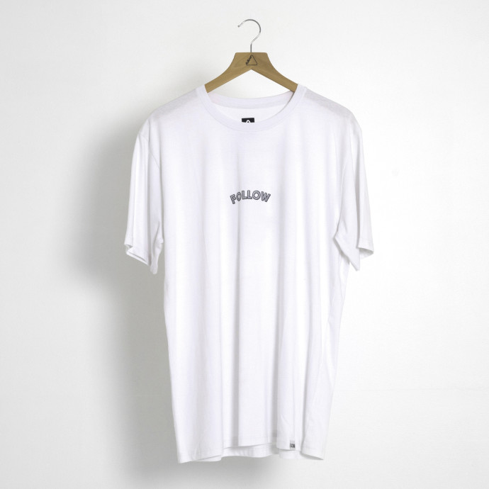 Follow Angry Email Mens Tee - White