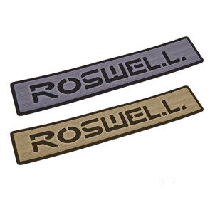Roswell Logo 2017 Step Pad / Grey