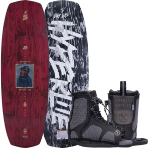 Hyperlite Kids Codyak #2022 w/Remix Cable Wakeboard Package