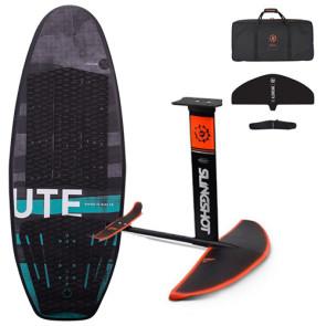 Hyperlite UTE Surf & Foil Board w/Slinghot Hover Glide Foil Complete Package