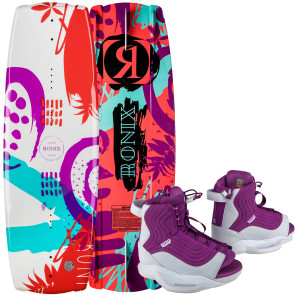 Ronix Kids August #2022 w/August Boat Wakeboard Package