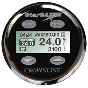 Perfect Pass 3.5 Star Gazer Display - Crownline Black