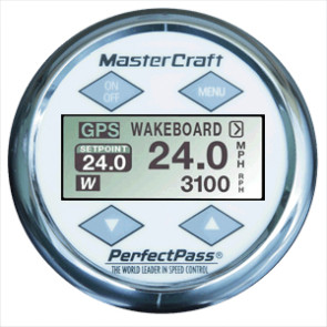 Perfect Pass 3.5 Star Gazer Display - Mastercraft White