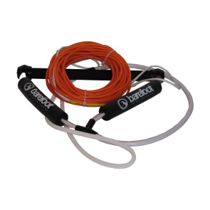 Barefoot Int'l Nylon Coated Wakeboard Rope 70' long and Spectra Core w/15'' Wake Handle Package