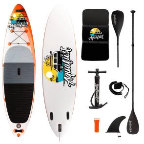 Aqualust 10'6'' iSUP Package - Orange - Allround