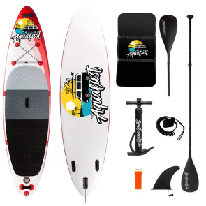Aqualust 10'6'' iSUP Package - Red - Allround