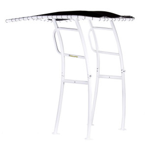 Fishmaster Pro Folding T-Top - White