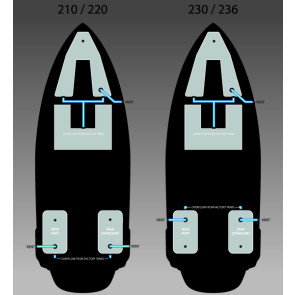 Fatsac W760 Super Air Nautique Additional Fat Sac Ballast System - 725kg